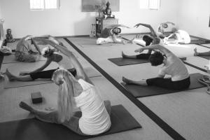 Clase de Yoga Iyengar